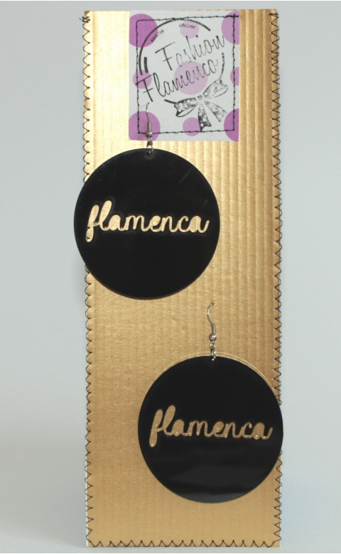 Medal Flamenca Earrings