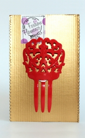 Flamenco hair comb